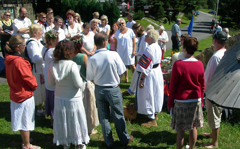 Pustevny 2016-08 Letní oslava boha Peruna 3