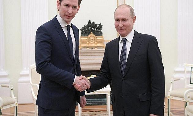 Putin na navsteve Evropy
