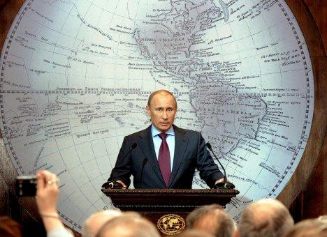 Putin vydava novy atlas sveta 2