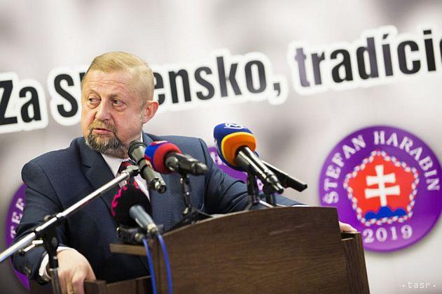 S. Harabin sa uchadza o podporu volicov