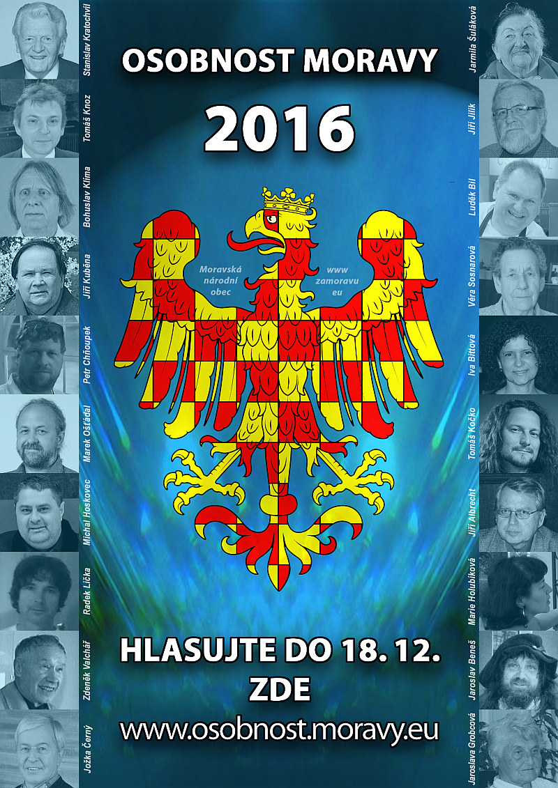 Volba osobnosti Moravy 2016