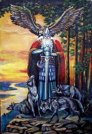 Perun s mecem, orlem a vlky 2