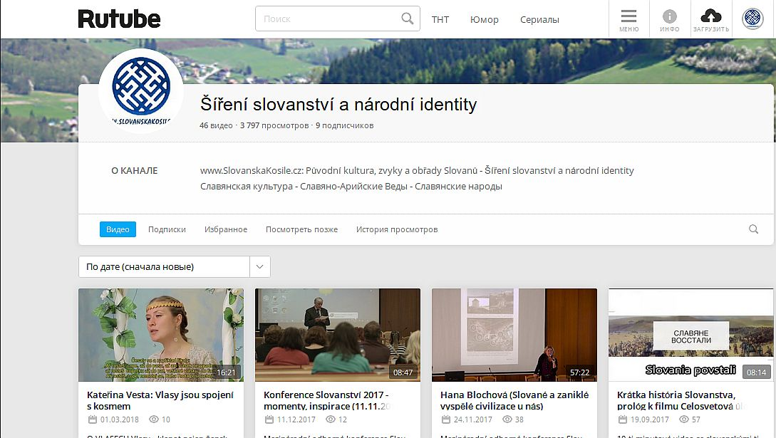 RuTube - Sireni Slovanstvi a narodni identity