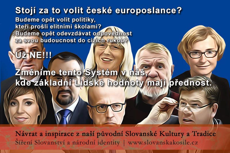 Stojí za to volit české europoslance - NE, tento Systém změníme FB