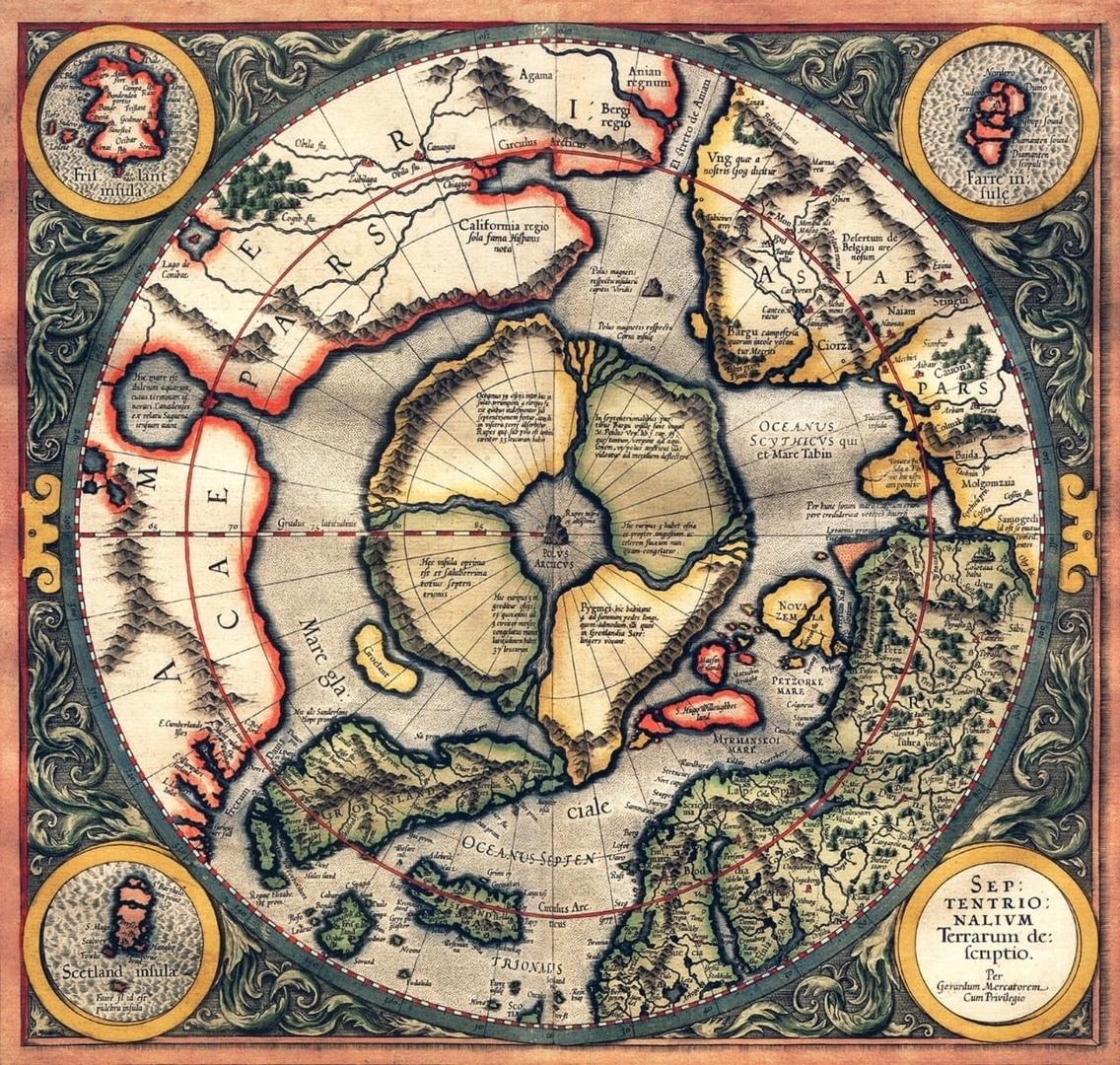 mapa DAÁRIA, HYPERBOREA