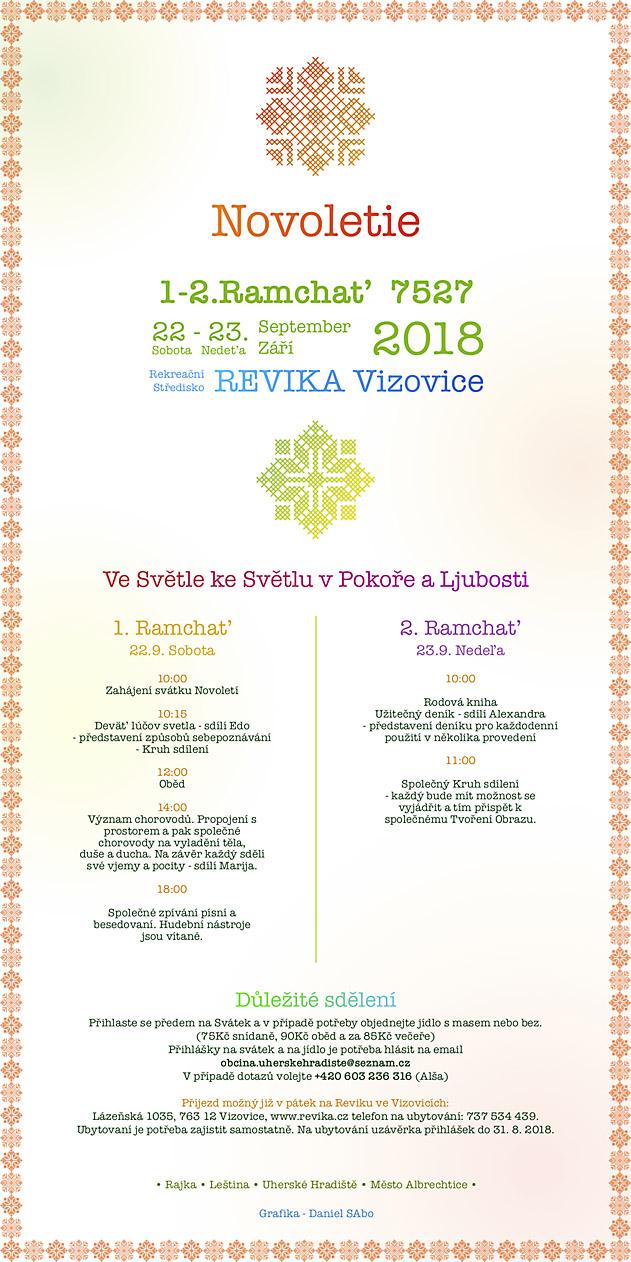 Novoletie 7527 (21.-23. 9. 2018 , Vizovice)