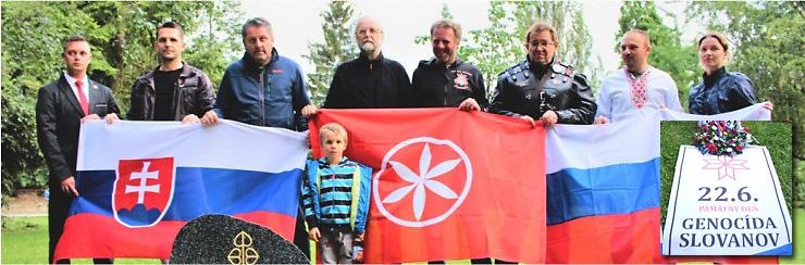 Pamatny Den genocidy Slovanov (banner)