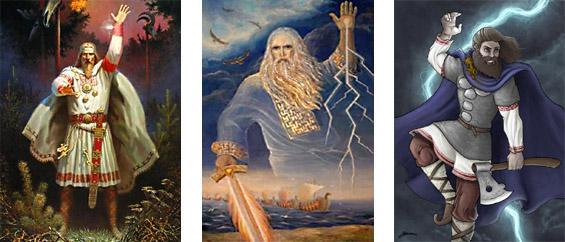 Perun - slovanský bůh světla vědění a života