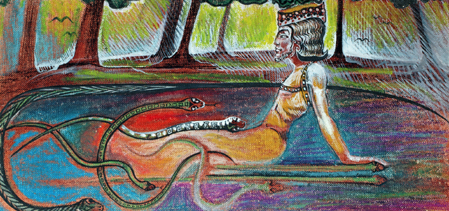 Symbol hada - nejnižší projev činnosti tvůrčí vůle a procesu vývoje světového