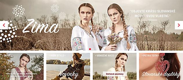 f1b518c1b2ed Slovanský internetový obchod s oblečením a informační portál ...
